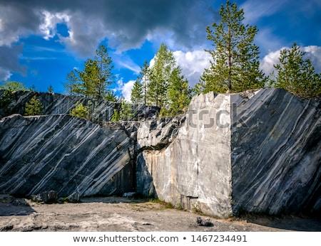 marble quarry in ruskeala Stock photo © Mikko