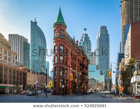 Toronto centro da cidade urbano cidade blue sky moderno Foto stock © pictureguy
