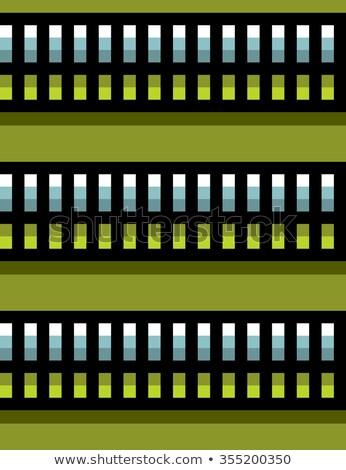 бесшовный стали Техно Трубы зеленый светло-зеленый Сток-фото © Melvin07