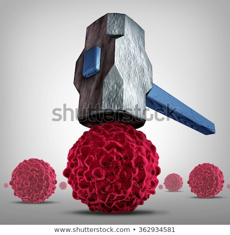 Crush Cancer Stock photo © Lightsource