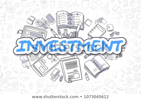 investment returns concept with doodle design style stock photo © davidarts