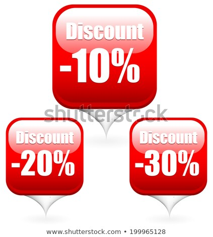 A 30 percent off pricetag Stock photo © bluering