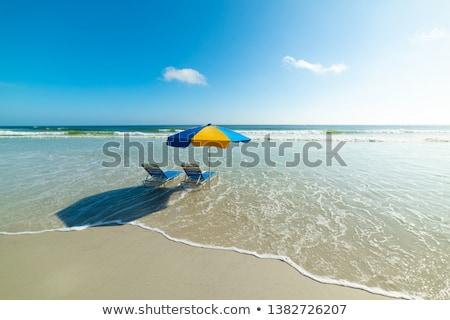Praia Flórida costa EUA ondas água Foto stock © lunamarina