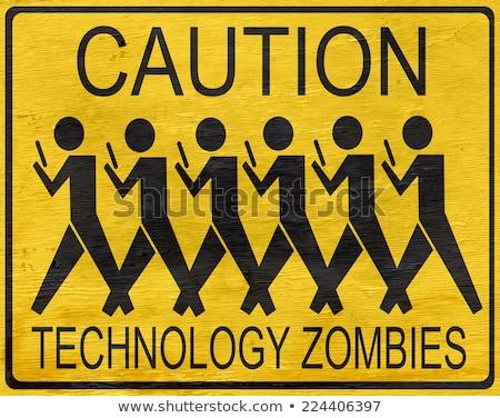 zombie of technology stock photo © lightsource