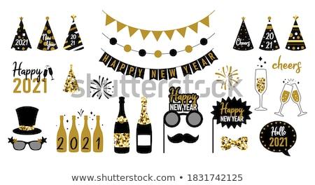 Celebration, party, vector set Stock photo © beaubelle