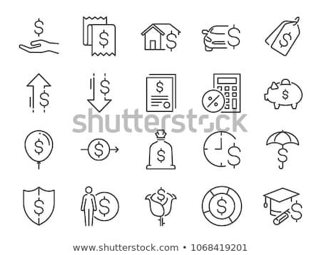 Personal Income Icon. Flat Design. Stock photo © WaD