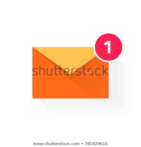 Stock fotó: Vektor · stílus · illusztráció · postaláda · ikon · háló