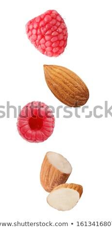 Fraîches framboises groupe rouge Photo stock © Digifoodstock