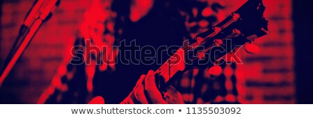View maschio cantante discoteca Foto d'archivio © wavebreak_media