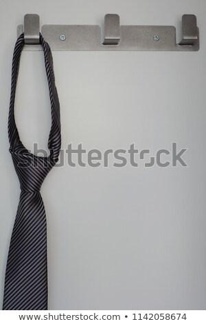 Close up of neckties hanging on wall Stock photo © wavebreak_media