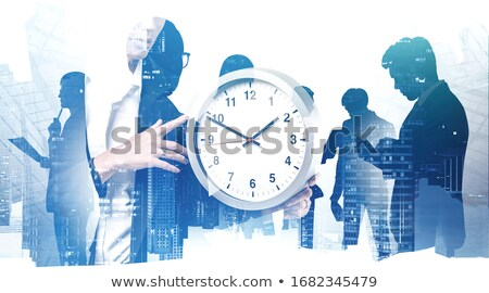 Thinking Business Time Stock photo © Lightsource