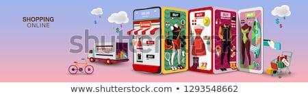 Online shopping banner Stock photo © Genestro