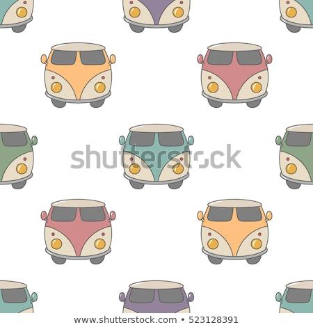 surf · edad · estilo · coche · patrón · diseno - foto stock © jeksongraphics