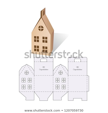 house in a box Stock photo © AnatolyM