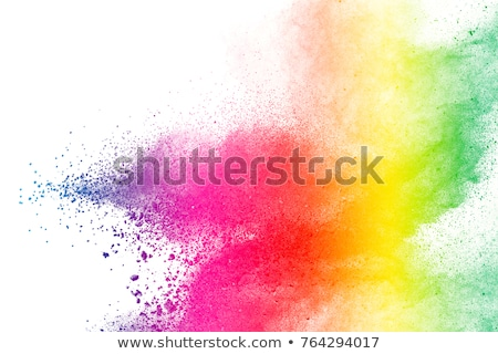 happy holi abstract colorful frame background Stock photo © SArts