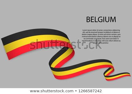 флаг · белый · фон · стране · объект · Stick - Сток-фото © doomko