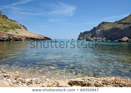 Across sea in Cala Figuera north Stock photo © iwfrazer