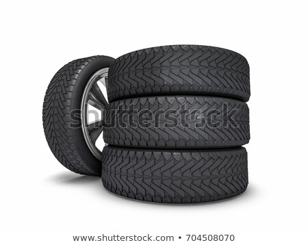 winter wheels set stock photo © romvo