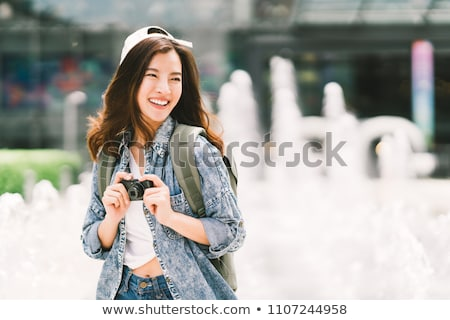 美人 · 屋外 · 写真 · 小さな · セクシーな女性 - ストックフォト © artfotodima