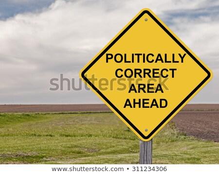 Politique corriger communication papier tête Photo stock © Lightsource