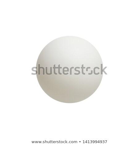 tafeltennis · bal · witte · sport · tabel · tennis - stockfoto © inxti