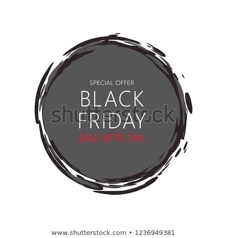preço · adesivo · black · friday · escuro · etiqueta · texto - foto stock © robuart