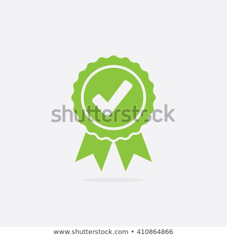Quality Approved Label Poster Vector Illustration Stock photo © robuart