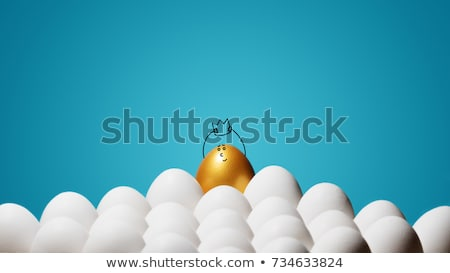easter egg golden king crown stock photo © limbi007