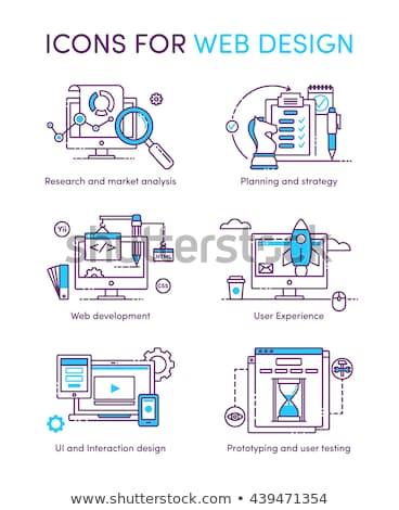 Searching, Web Development, Planning Optimization Stock photo © robuart