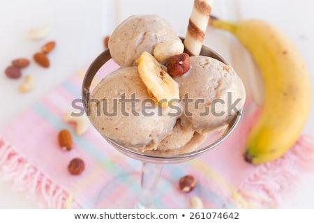 Color Border Ice Cream Mint Background Stock photo © cammep