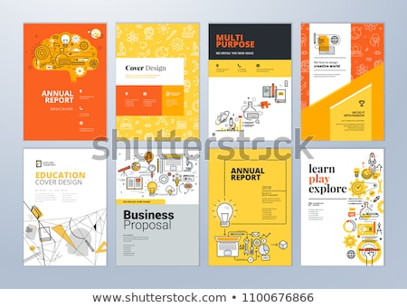 Smart training concept vector illustration. Stock photo © RAStudio