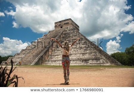 Pyramid of Kukulcan Stock photo © jsnover