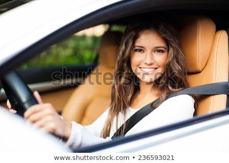 rijden · vrouwelijke · hand - stockfoto © lightpoet