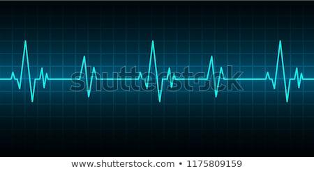 Listening heart beat Stock photo © nomadsoul1
