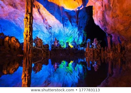 フルート 洞窟 美しい 中国 旅行 岩 ストックフォト © craig