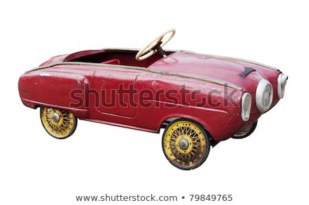 rusty classic toy car Stock photo © morrbyte