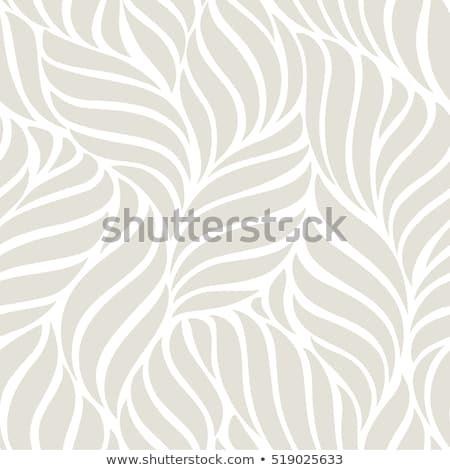 Levél minta négy végtelenített minták virágok terv Stock fotó © glorcza