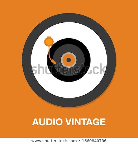 cd · durum · siyah · müzik · plastik · bo - stok fotoğraf © vectomart
