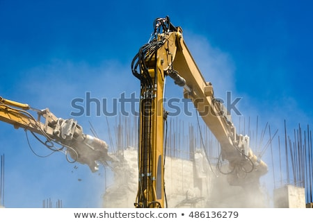 industrial dismantle, mechanical destruction  Stock photo © yoshiyayo