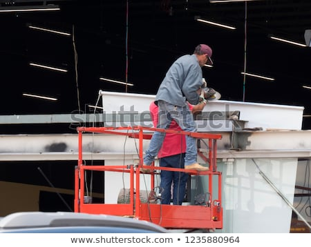 Accident prone construction worker Stock photo © photography33