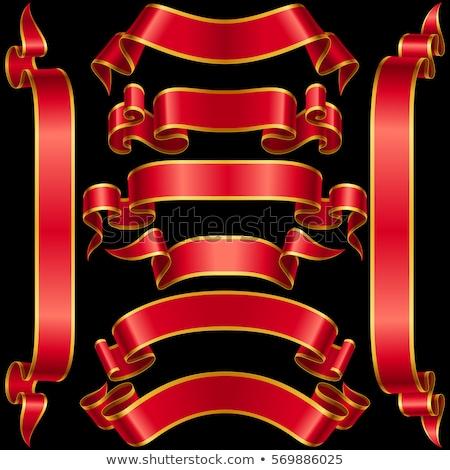 最良の選択 · 赤 · ラベル · ファブリック · テクスチャ - ストックフォト © glorcza