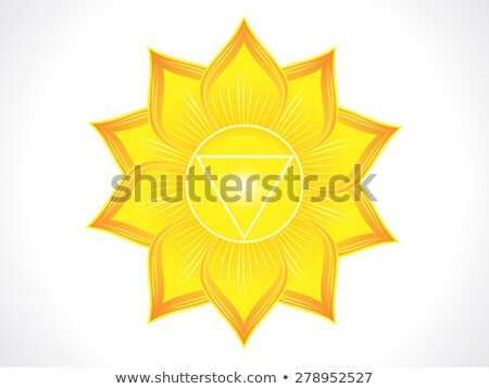 detailed solar plexus chakra Stock photo © pathakdesigner