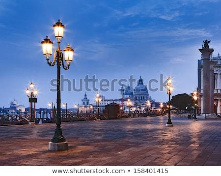 rua · lâmpadas · edifício · fixo · parede · metal - foto stock © vaximilian