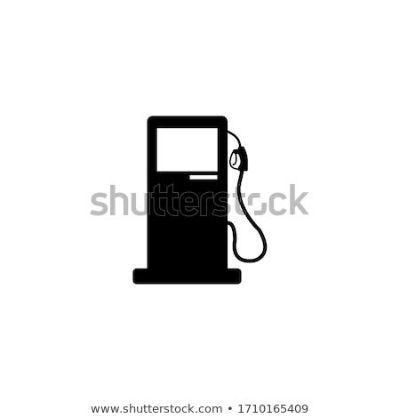 abstract petrol pump icon stock photo © pathakdesigner