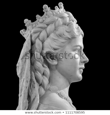 Portrait of empress Elisabeth of Austria Stock photo © jakatics