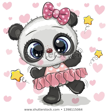 cutie dancing Stock photo © nicemonkey
