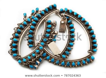 Agate necklace Stock photo © ruzanna