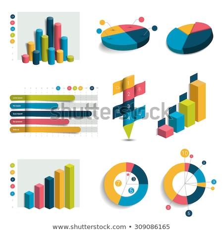 カラフル · 3D · 円グラフ · グラフ · お金 · 企業 - ストックフォト © 6kor3dos