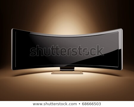 ultra wide professional display stock photo © nav