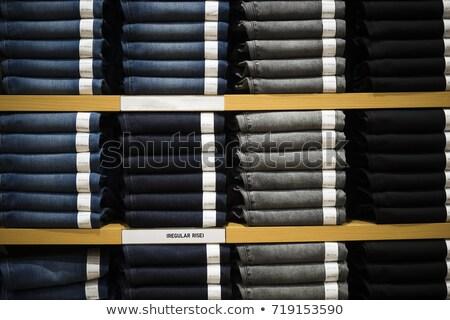 kobieta · stałego · sklep · patrząc · ubrania · kolej - zdjęcia stock © wavebreak_media